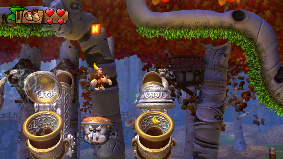 Donkey Kong Country: Tropical Freeze Review - Screenshot 1 of 9