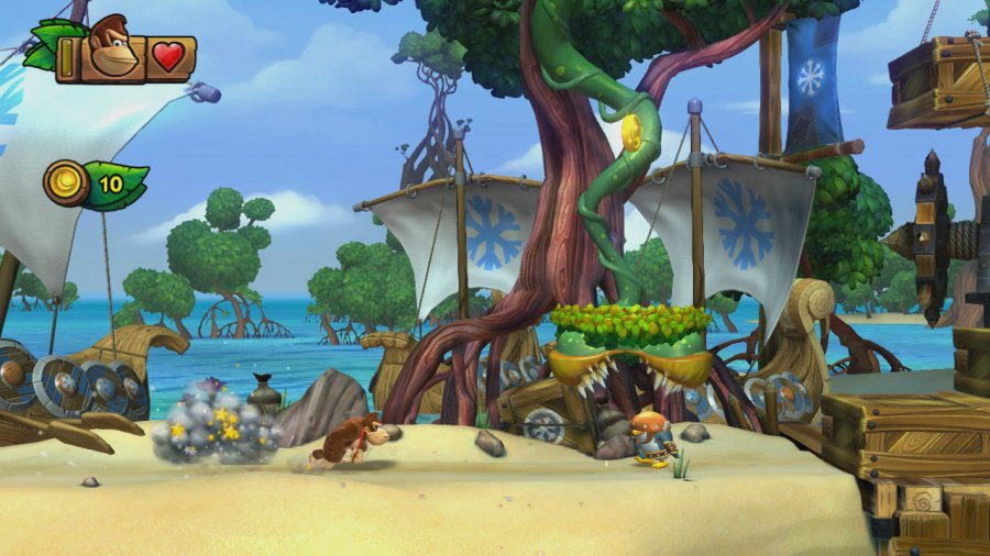 Donkey Kong Country: Tropical Freeze Review - Screenshot 6 of 9