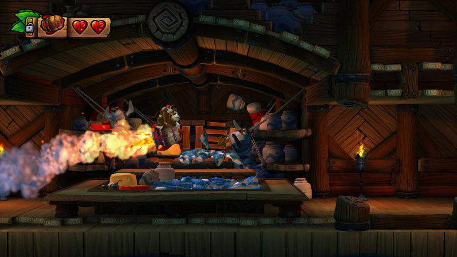 Donkey Kong Country: Tropical Freeze Review - Screenshot 2 of 9