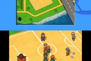 Inazuma Eleven Screenshot