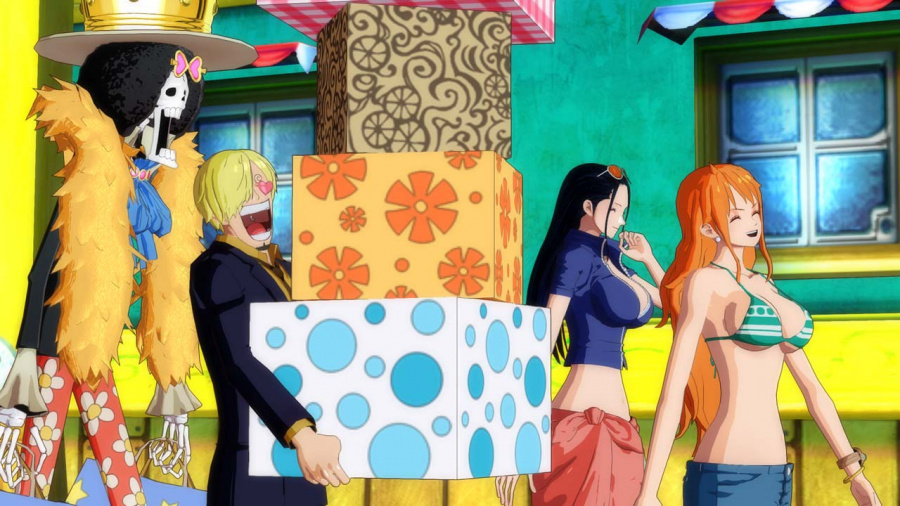 One Piece Unlimited World Red Review - Screenshot 3 of 5