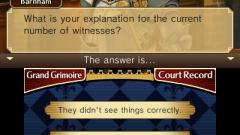 Professor Layton vs. Phoenix Wright: Ace Attorney Screenshot