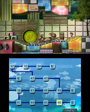 Yumi's Odd Odyssey Review - Screenshot 2 of 10