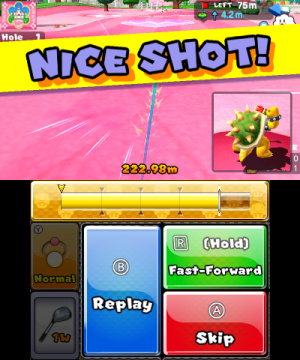 Mario Golf: World Tour Review - Screenshot 2 of 12