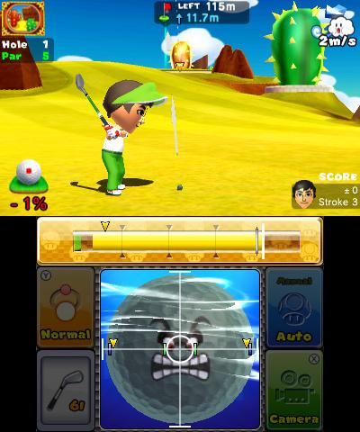 Mario Golf World Tour Ds How To Putt