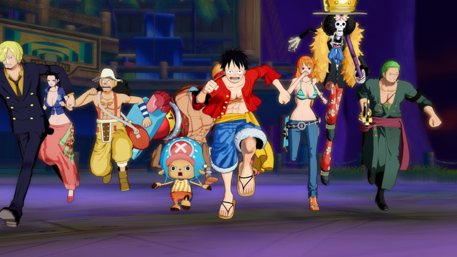 One Piece Unlimited World Red Review - Screenshot 4 of 5