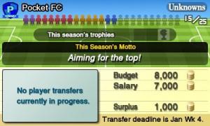 Nintendo Pocket Football Club Review - Screenshot 5 of 7