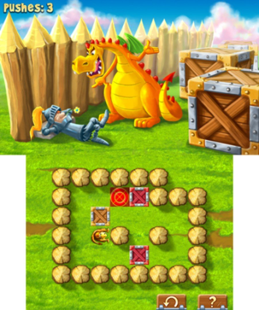 Tiny Games - Knights & Dragons Screenshot