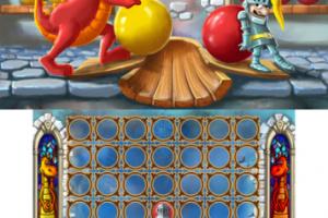 Tiny Games - Knights & Dragons Screenshot