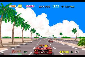 3D Out Run Screenshot