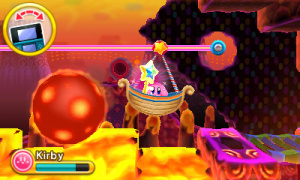 Kirby: Triple Deluxe Review - Screenshot 1 of 7