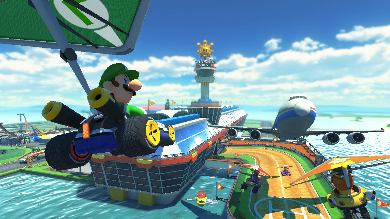 mario kart 8 screenshot. Black Bedroom Furniture Sets. Home Design Ideas