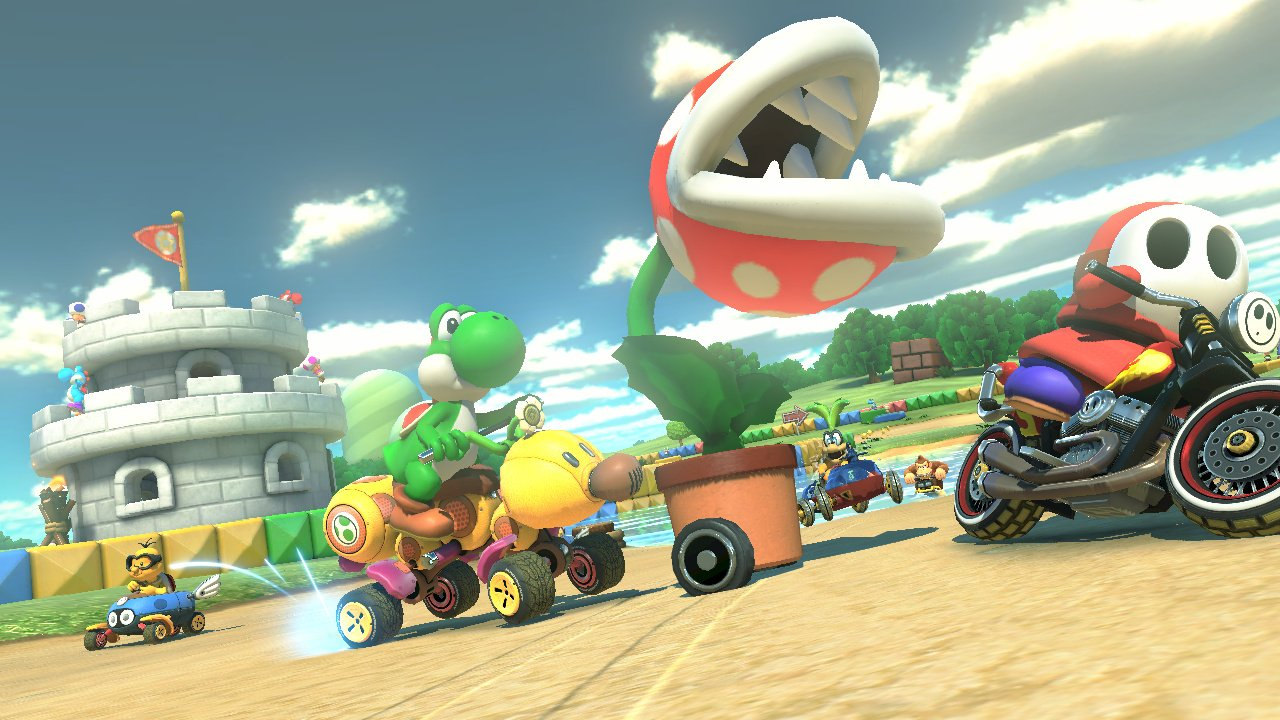 mario kart 8 wii u screenshots. Black Bedroom Furniture Sets. Home Design Ideas