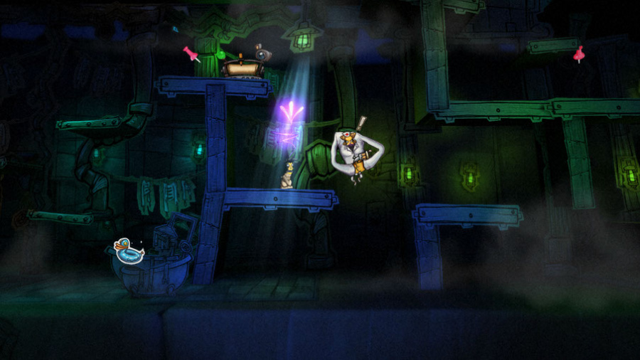 Stick It To The Man Review - Screenshot 3 of 4