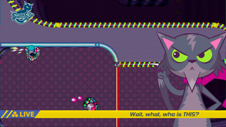 Scram Kitty and his Buddy on Rails Review - Screenshot 1 of 4