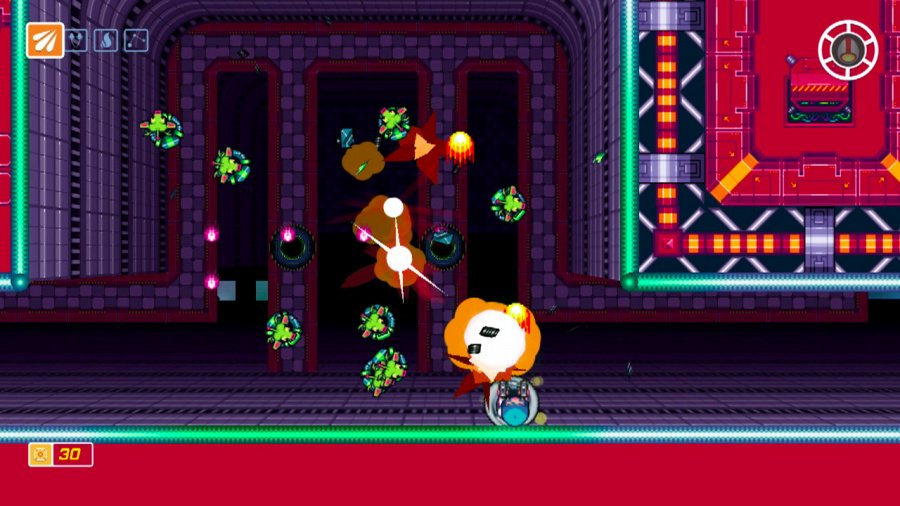 Scram Kitty and his Buddy on Rails Review - Screenshot 2 of 4