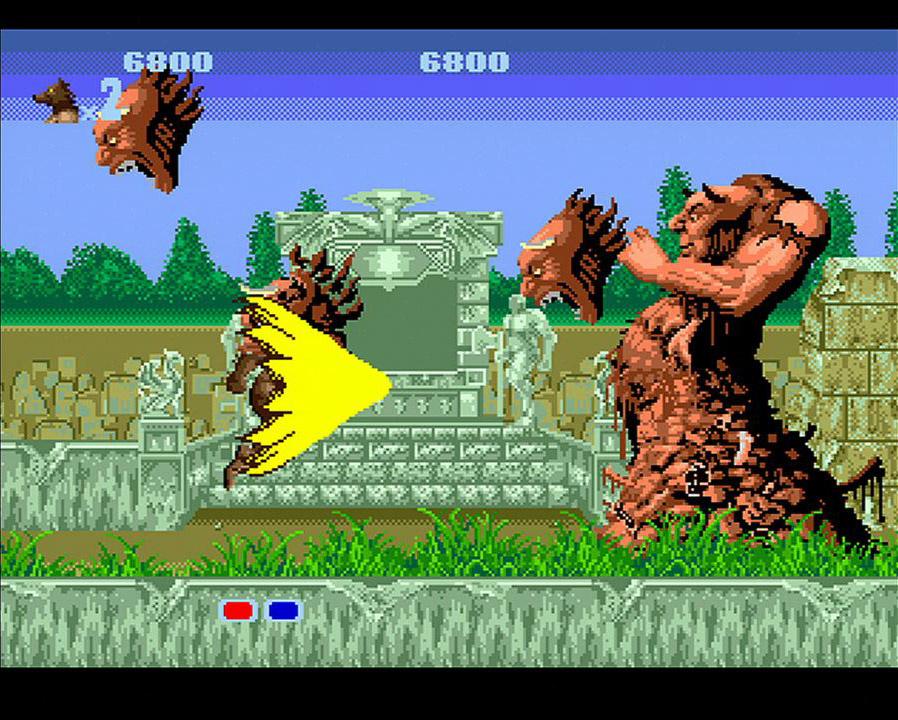 Altered Beast (MD / Mega Drive) Game Profile
