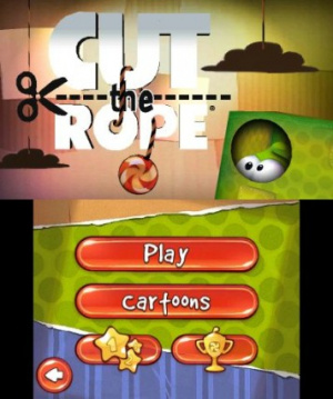 Cut the Rope: Triple Treat Review - Screenshot 2 of 4