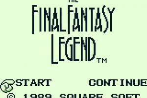 The Final Fantasy Legend Screenshot