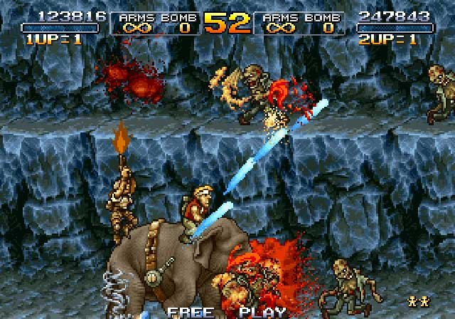 Metal Slug Anthology Screenshot