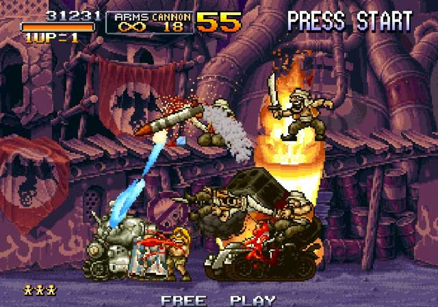 Metal Slug Anthology Review - Screenshot 1 of 3