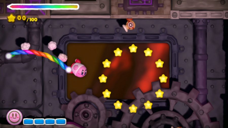Kirby and the Rainbow Curse Review - Screenshot 1 of 5