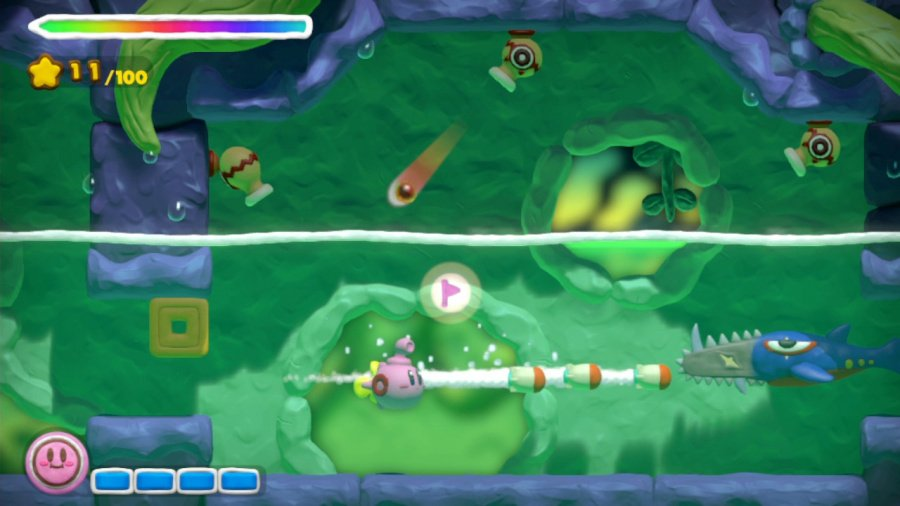 Kirby and the Rainbow Curse Review - Screenshot 2 of 5