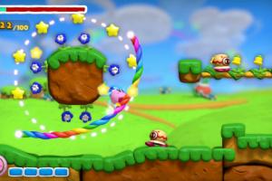 Kirby and the Rainbow Curse Screenshot
