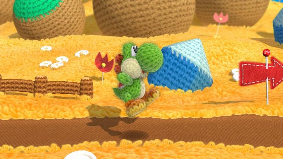 Yoshi's Woolly World Review - Screenshot 1 of 6