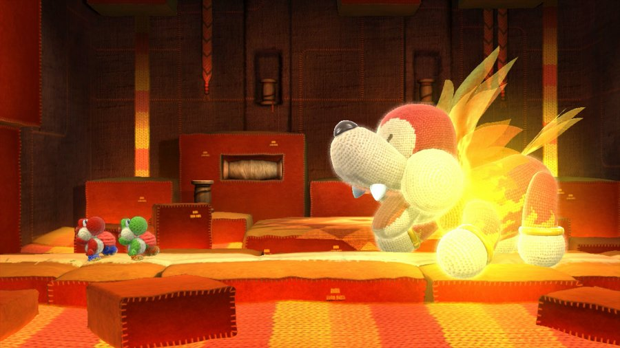 Yoshi's Woolly World Review - Screenshot 1 of 7