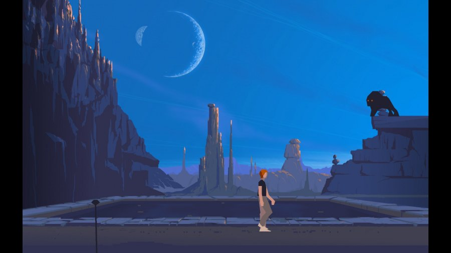 Another World - 20th Anniversary Edition Review - Screenshot 1 of 5