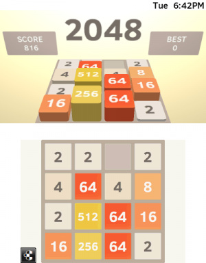 2048 Review - Screenshot 2 of 3