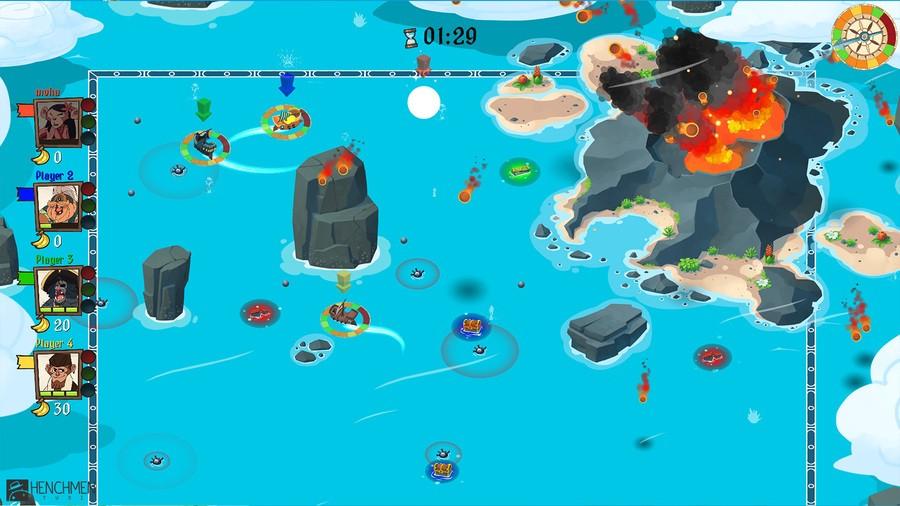 Monkey Pirates Screenshot