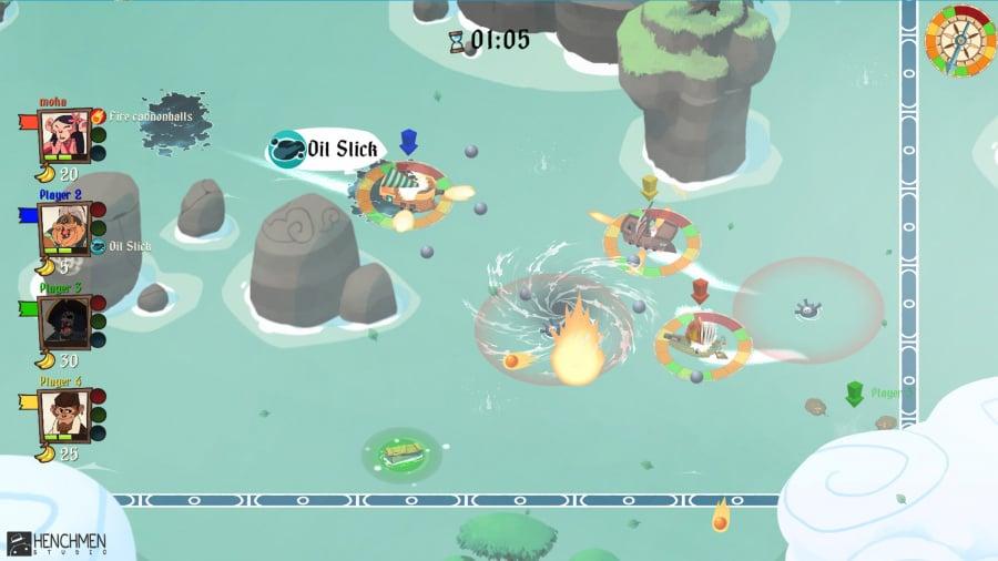 Monkey Pirates Review - Screenshot 1 of 4