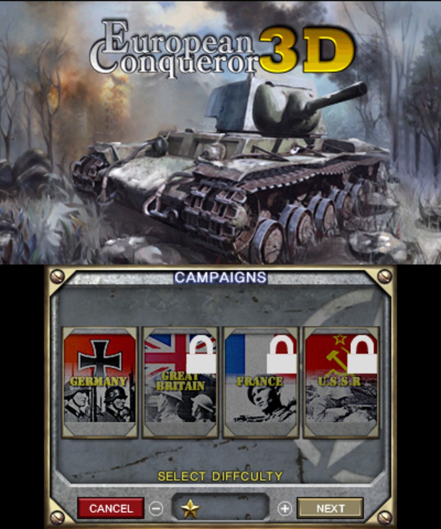 European Conqueror 3D Screenshot