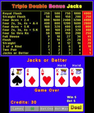 Plain Video Poker Review - Screenshot 1 of 3