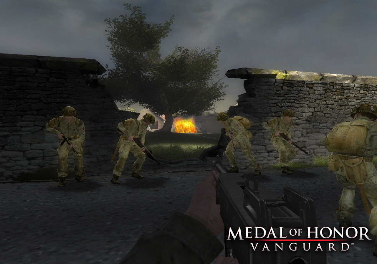Medal of Honor: Vanguard Screenshot