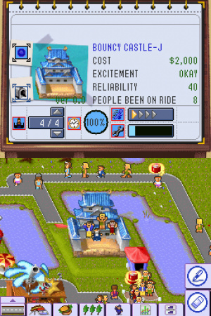 Theme Park DS Review - Screenshot 3 of 4