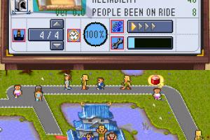 Theme Park DS Screenshot