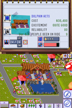 Theme Park DS Review - Screenshot 2 of 3