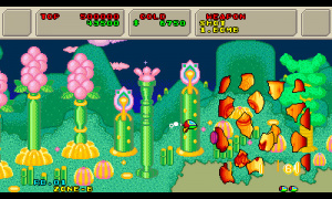 3D Fantasy Zone II W Review - Screenshot 2 of 4