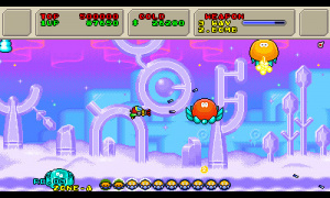 3D Fantasy Zone II W Review - Screenshot 1 of 4
