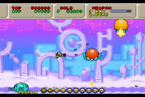 3D Fantasy Zone II W Screenshot
