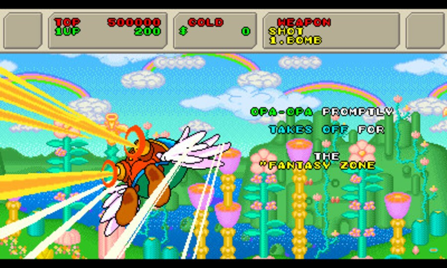 3D Fantasy Zone II Screenshot