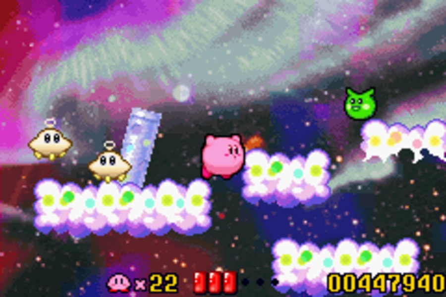 Kirby: Nightmare in Dream Land Screenshot