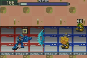 Mega Man Battle Network Screenshot
