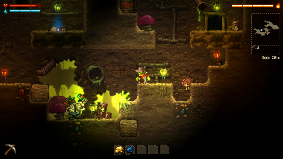 SteamWorld Dig Review - Screenshot 2 of 3
