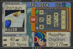 Mega Man Battle Chip Challenge Screenshot
