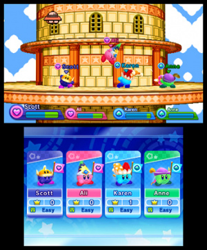 Kirby Fighters Deluxe Review - Screenshot 4 of 7