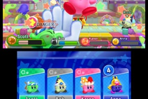 Kirby Fighters Deluxe Screenshot